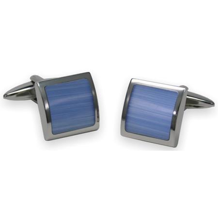 manschettenkn pfe katzenauge blau herren accessoires bei. Black Bedroom Furniture Sets. Home Design Ideas